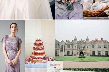 An Elegant English Countryside Wedding + A classic bow sash wedding dress | itakeyou.co.uk