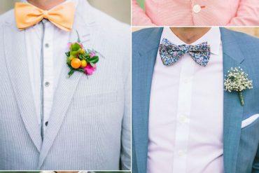 20 Wedding bow ties ideas for groom and groomsmen