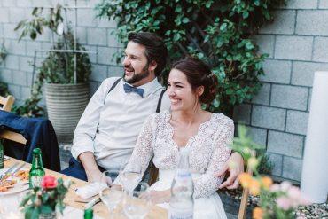 Helena Harfst Wedding Dress For A Backyard Romance + Subtle Elegant Wedding | I take you