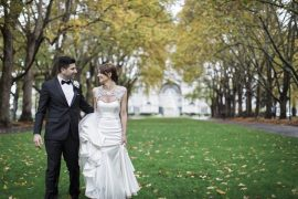 A Modern and Elegant Jason Grech Wedding Dress for A Big Fat Greek Winter Wedding | I take you