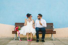 Colourful Mexican Inspired Wedding + 1950s themed wedding   I take you #weddingideas #brideandgroom