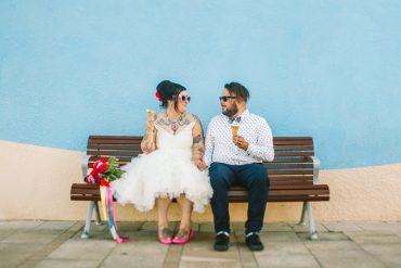 Colourful Mexican Inspired Wedding + 1950s themed wedding | I take you #weddingideas #brideandgroom