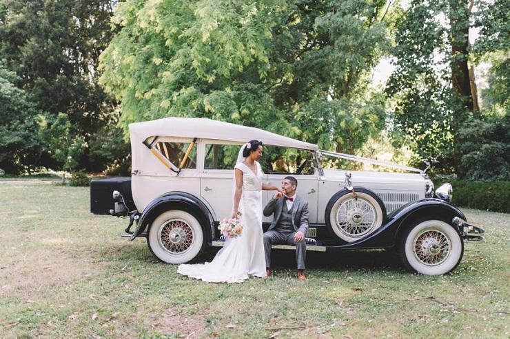 Johanna Johnson wedding dress for a Classic Vintage Summer Wedding in Australia