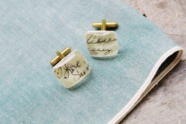 Personalized wedding gift ideas | Customized cuff links | i take you #cufflinks