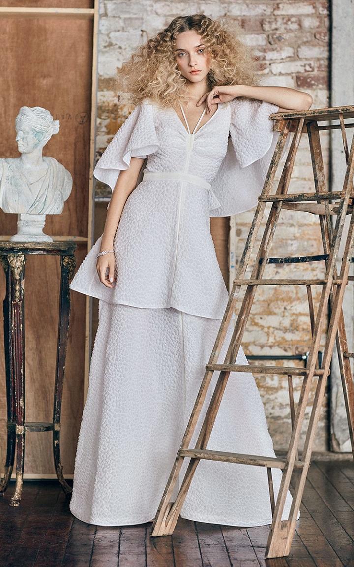Rosie Assoulin Bridal Classics Collection   wedding dresses 2017   itakeyou.co.uk #weddingdress #weddingdresses #weddinggown