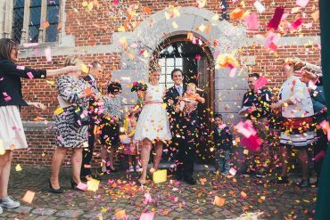 A short wedding dress + blush cardigan for an indie spring wedding   itakeyou.co.uk #wedding #springwedding #indiewedding #shortweddingdress #weddingdresses #weddingdress