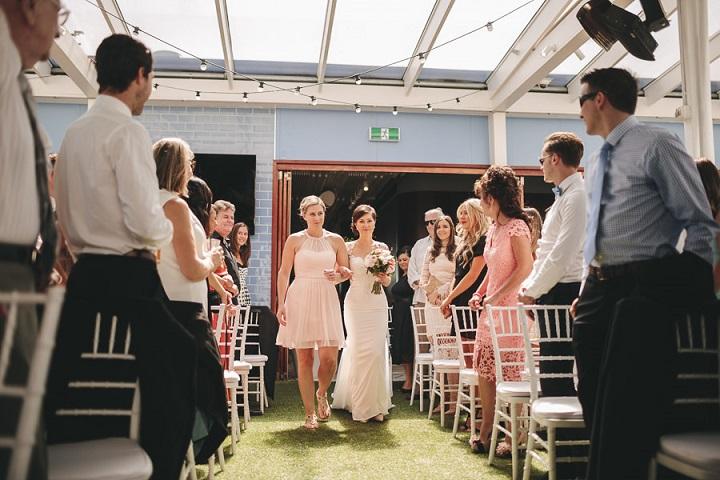 Vibrant Rooftop Wedding   itakeyou.co.uk #wedding #vibrantwedding #rooftopwedding