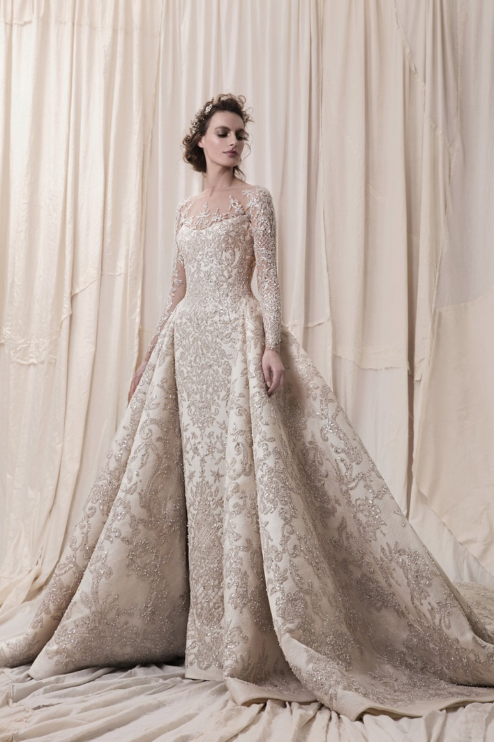 Krikor Jabotian 2018 bridal collection - sophisticated wedding dresses