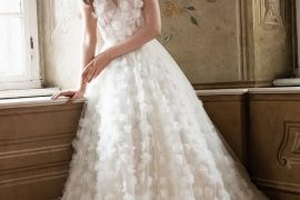 Gorgeous A Line Wedding Gowns For Stylish Brides
