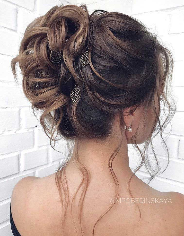 Gorgeous Wedding Hairstyles For the Elegant Bride | bridal updo hairstyles #weddinghair #weddingupdo #weddinghairstyle #weddinginspiration #bridalupdo