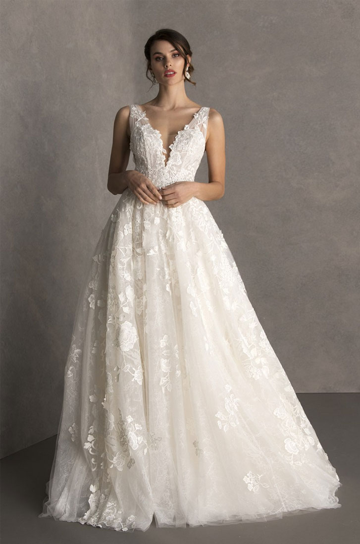 Valentini Spose Spring 2020 Wedding Dresses - Wedding Dress ,bridal gown ,wedding gown #wedding #weddinggown #weddingdress