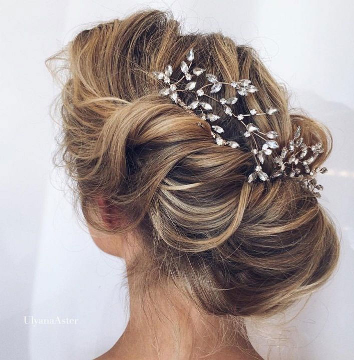 75 Gorgeous Wedding Hairstyles For The Elegant Bride - wedding updo #hairstyle #hair #updo #weddinghairstyles #weddinghair #weddingupdo #weddinghairstyle #weddinginspiration #bridalupdo