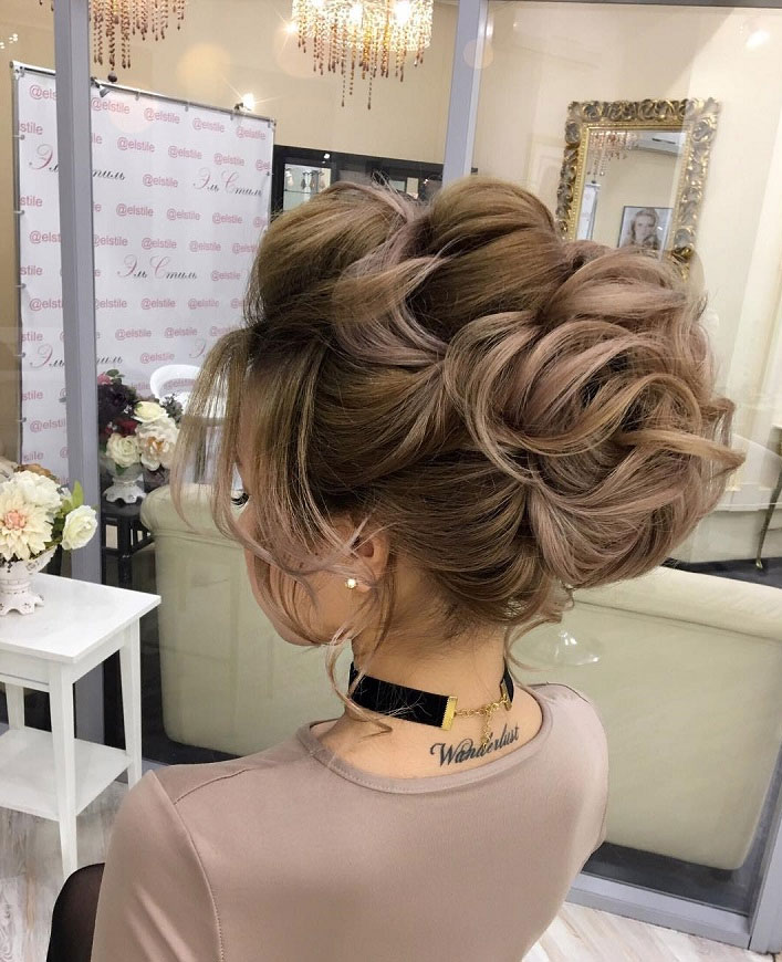 75 Gorgeous Wedding Hairstyles For The Elegant Bride - wedding updo #hairstyle #hair #updo #weddinghairstyles #weddinghair #weddingupdo #weddinghairstyle #weddinginspiration #bridalupdo