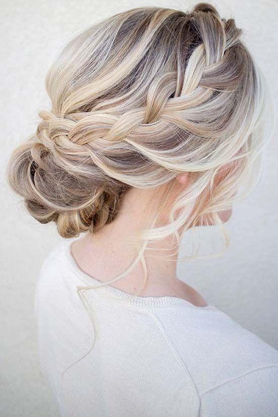 Messy wedding hair updos   itakeyou.co.uk #weddinghair #weddingupdo #weddinghairstyle #weddinghairstyles #bridalupdo