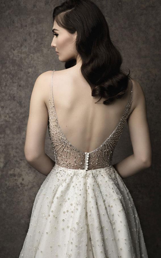 Enaura 2019 Wedding Dresses - Sweetheart neckline with illusion straps #wedding #weddinggown bride dress
