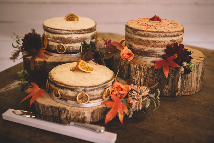 Wedding cake #weddingcake autumn wedding cakes