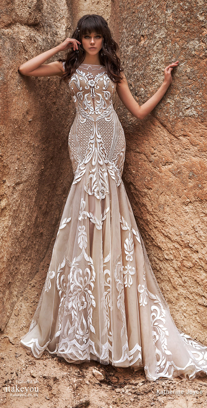 wedding dress - Katherine Joyce Wedding Dresses - The Wind Desert Collection