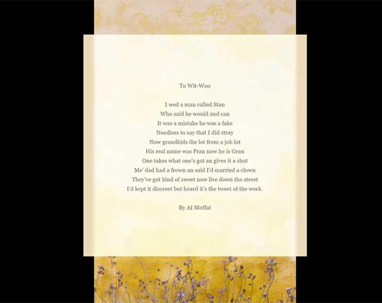 silly wedding poems, funny wedding poems, humorous wedding readings, funny wedding readings, hilarious wedding readings, modern funny wedding poems,