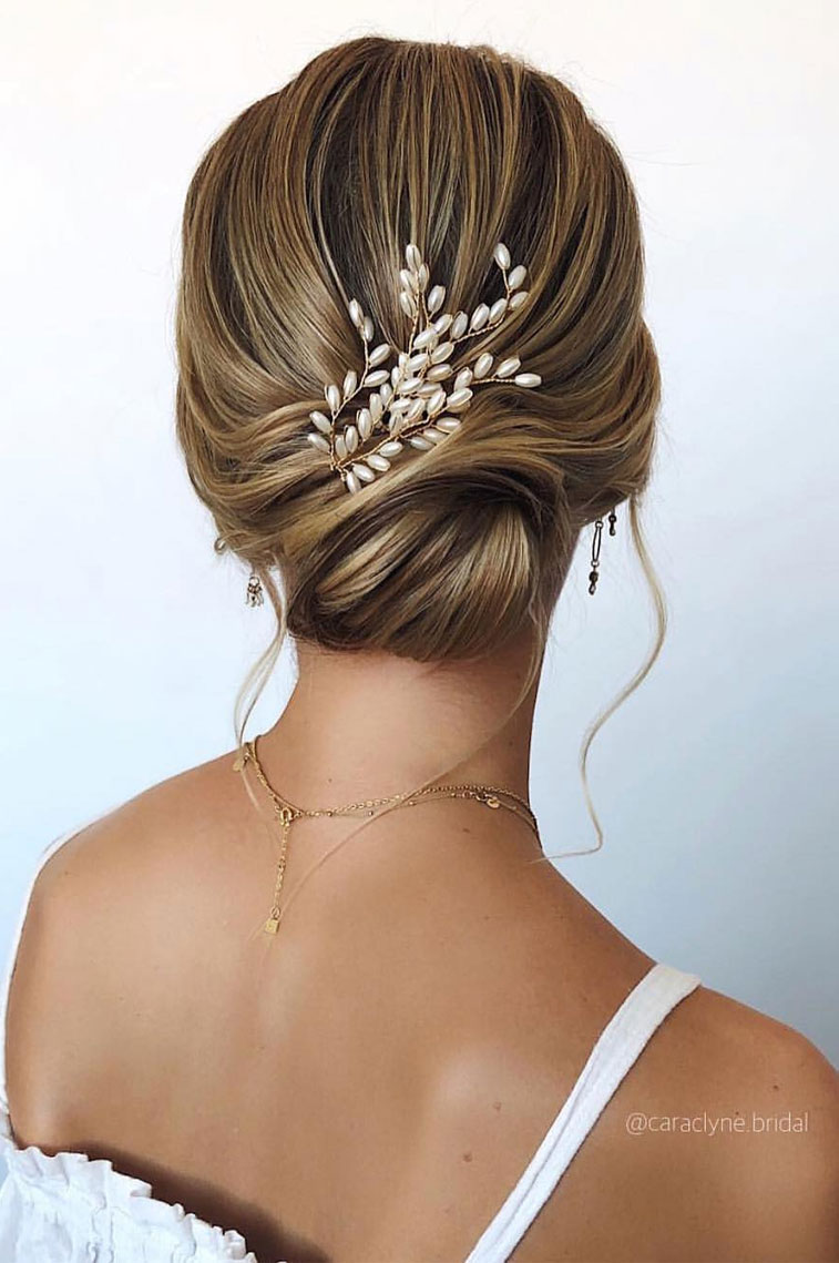 33 Classy And Elegant Wedding Hairstyles