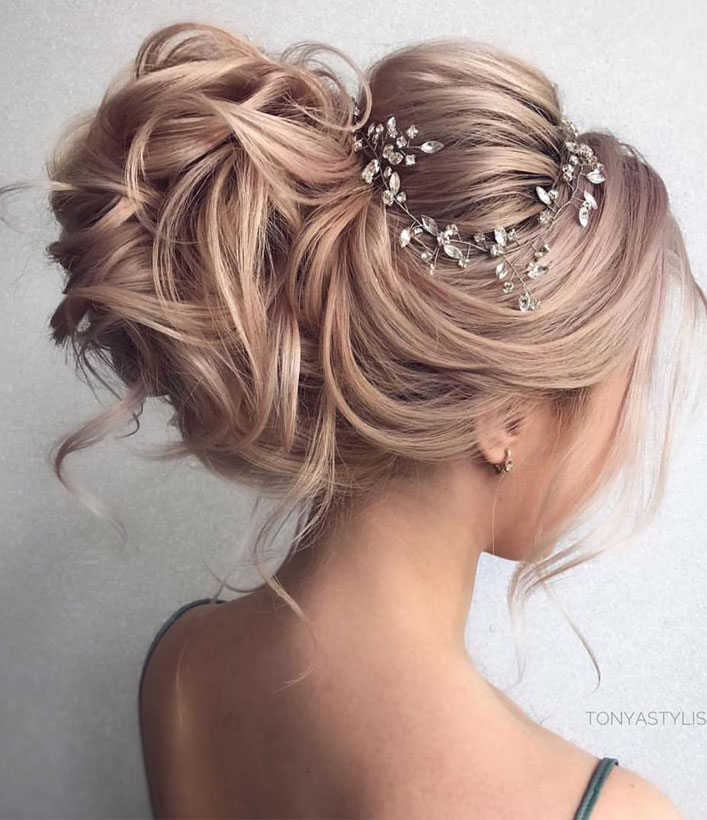 Top 20 Fabulous Updo Wedding Hairstyles: Fabulous Bridal Updo Hairstyle