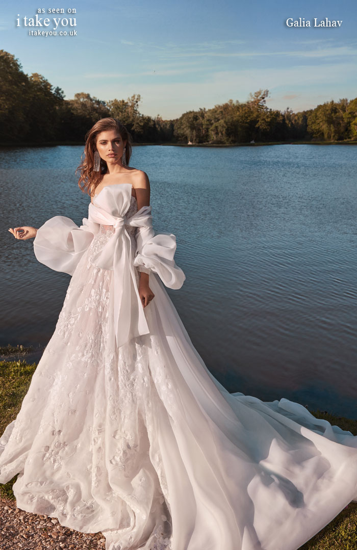 galia lahav fall 2020, galia lahav fancy white, wedding dresses, galia lahav, fancy white by galia lahav, galia lahav 2020, wedding gowns, wedding dress, ball gown wedding dress with balloon sleeves