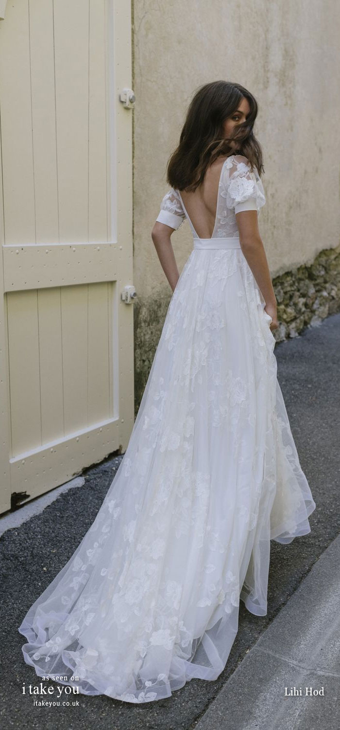lihi hod 2019 bridal, lihi hod 2019 wedding dresses, wedding dresses, beautiful wedding dresses, beautiful wedding dresses 2019, lihi hod bridal, wedding gown, wedding gowns, short sleeve wedding dresses