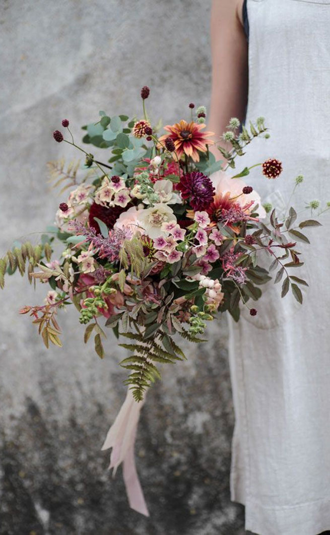 The Latest Trends For Bridal Bouquets