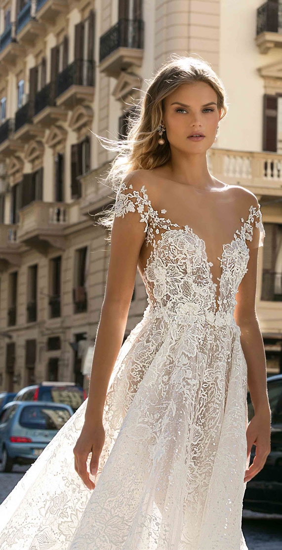 "Berta Fall 2020 Wedding Dresses — ""Napoli"" Bridal Collection"