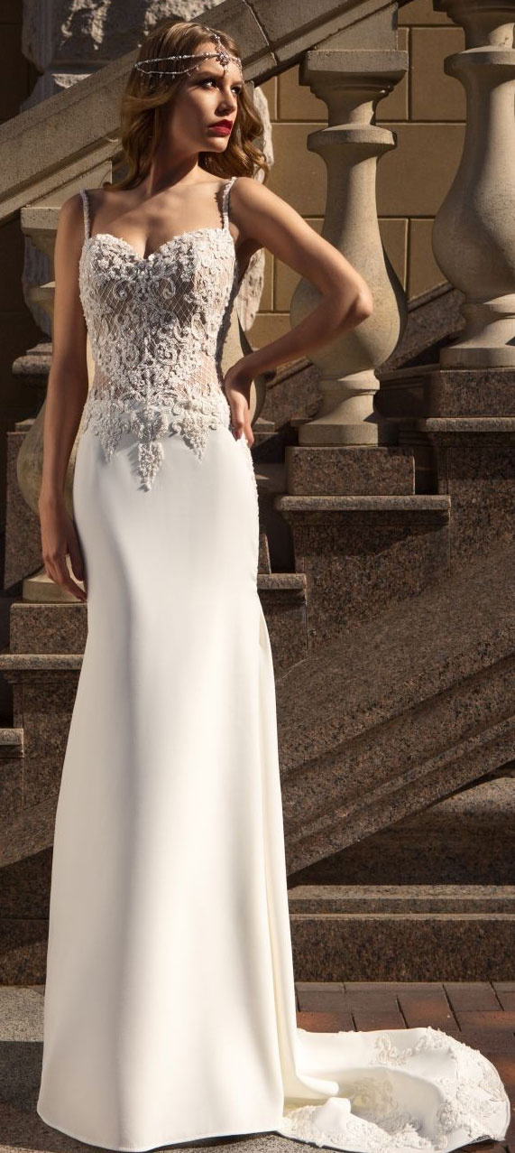 "Catarina Kordas Wedding Dresses ""Simple Perfection"" Bridal Collection"