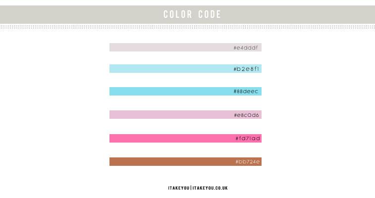 color , color hex, color ideas, color inspiration , color combos