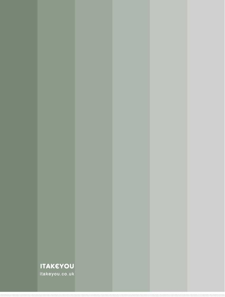 Shades of Sage Color Palette
