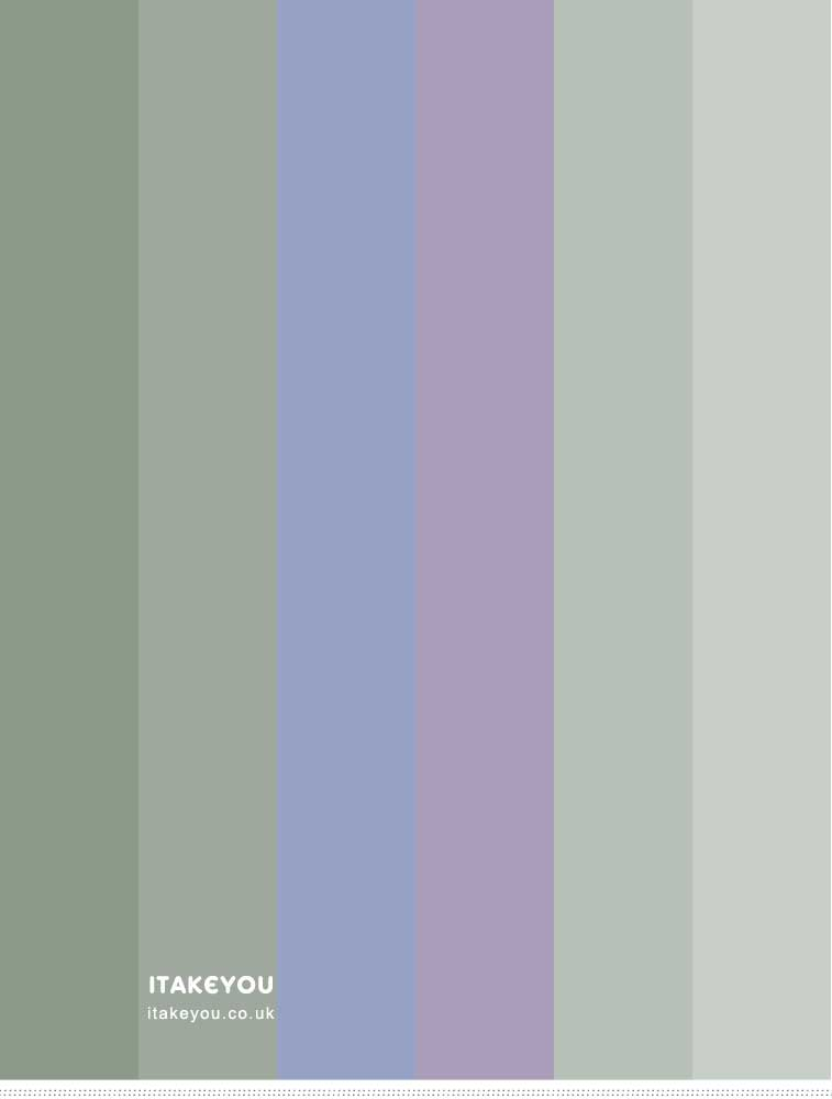 Bluebell , Lavender and Sage Color Combos