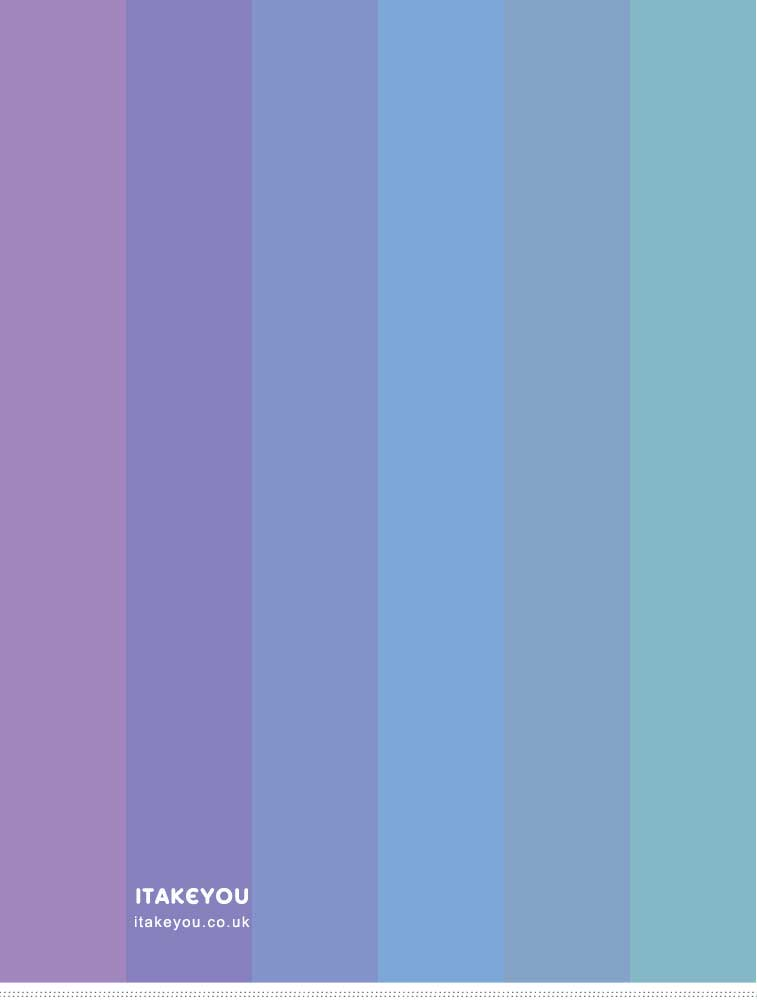 Lavender and Blue Toned Color Palette
