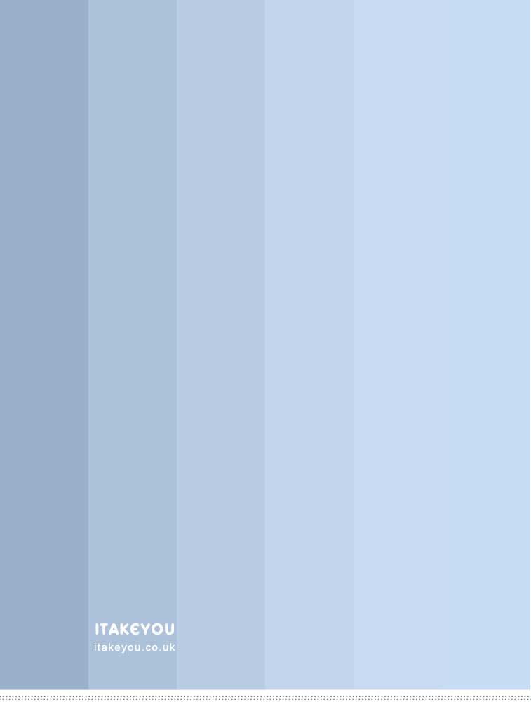 Color Palette : Ombre Blue
