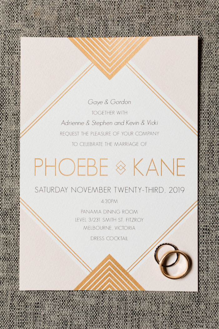 geometric art deco wedding invitation, nyc inspired wedding, art deco wedding invitation, art decor wedding theme #nycweddingtheme