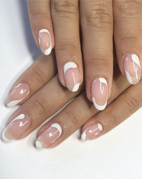 french nails, french manicure, french tip nails, french manicures ideas #frenchnails nail art , nails , nail trends 2020, french nail designs