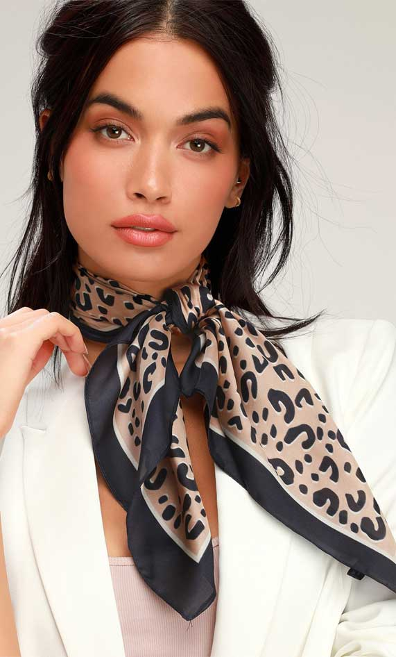 leopard scarf, spring outfit, best spring fashion, best spring outfits 2020
