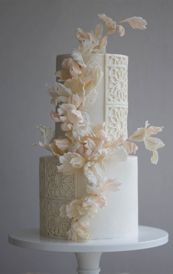 wedding cake, spring wedding cake, wedding cakes, best wedding cakes 2020 #weddingcake