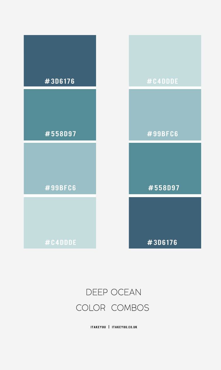 Deep ocean Color Combos