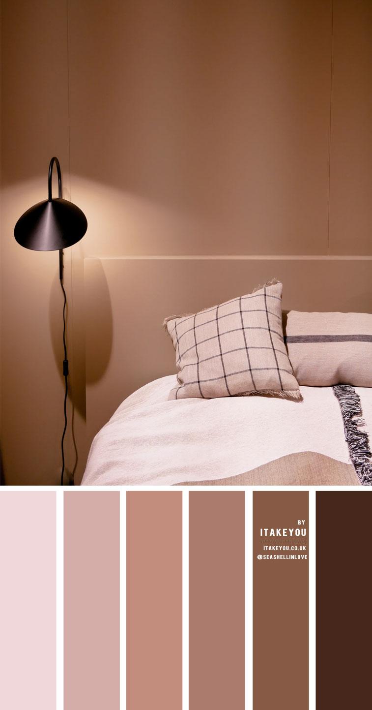 Earth Tone Color Scheme For Bedroom 1 I Take You Wedding Readings Wedding Ideas Wedding Dresses Wedding Theme