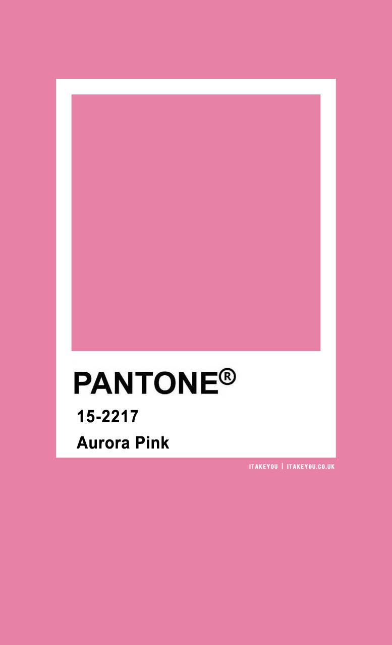 Pantone Color : Pantone Aurora Pink