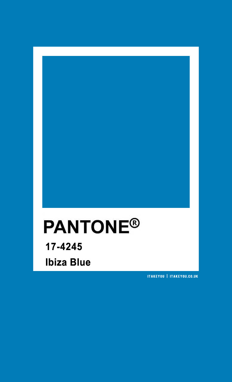 Pantone Color : Pantone Ibiza Blue