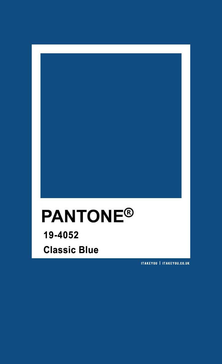 Pantone Color : Pantone Classic Blue
