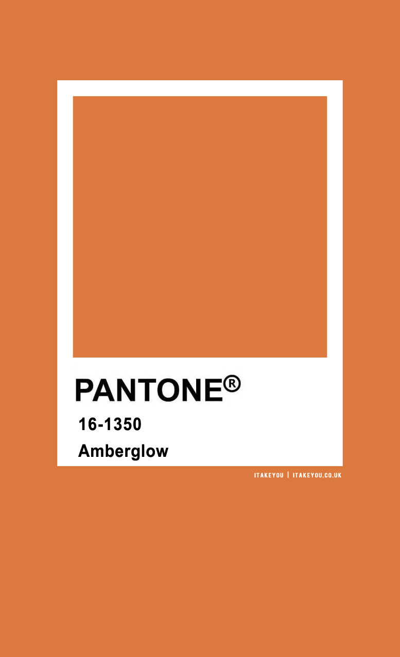 Pantone Color : Pantone Amberglow Color
