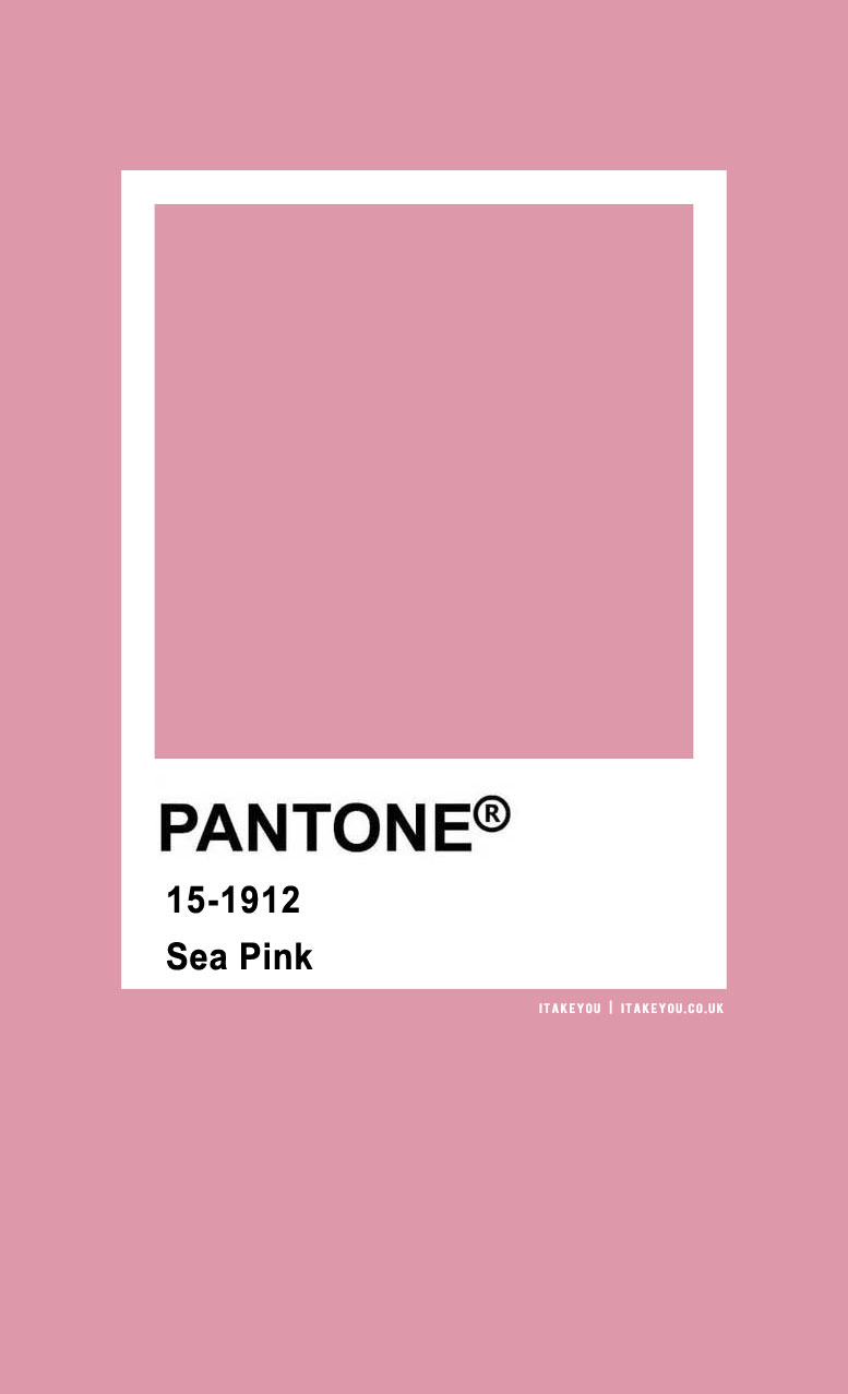 Pantone Color : Pantone Sea Pink