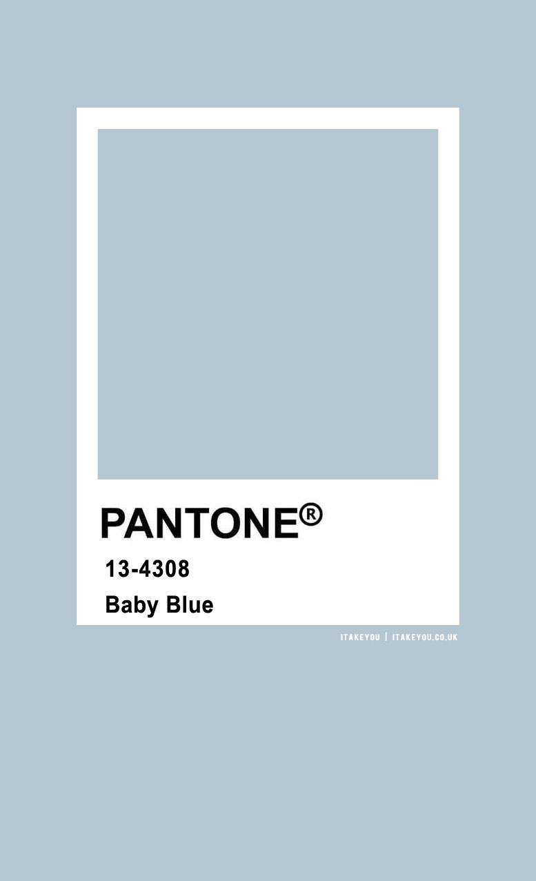Pantone Color : Pantone Baby Blue