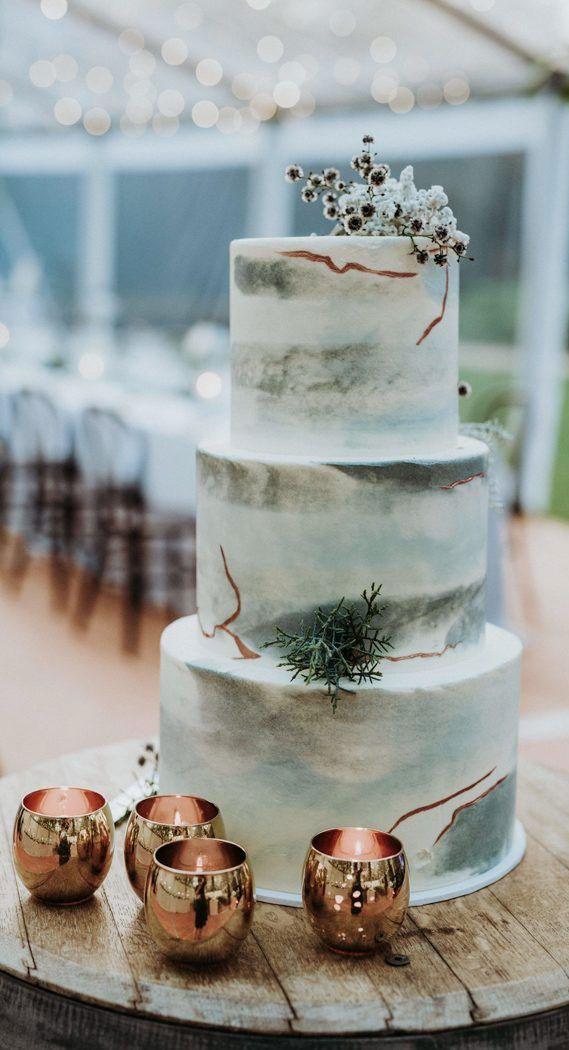 sage wedding cake #weddingcake #sage sage wedding
