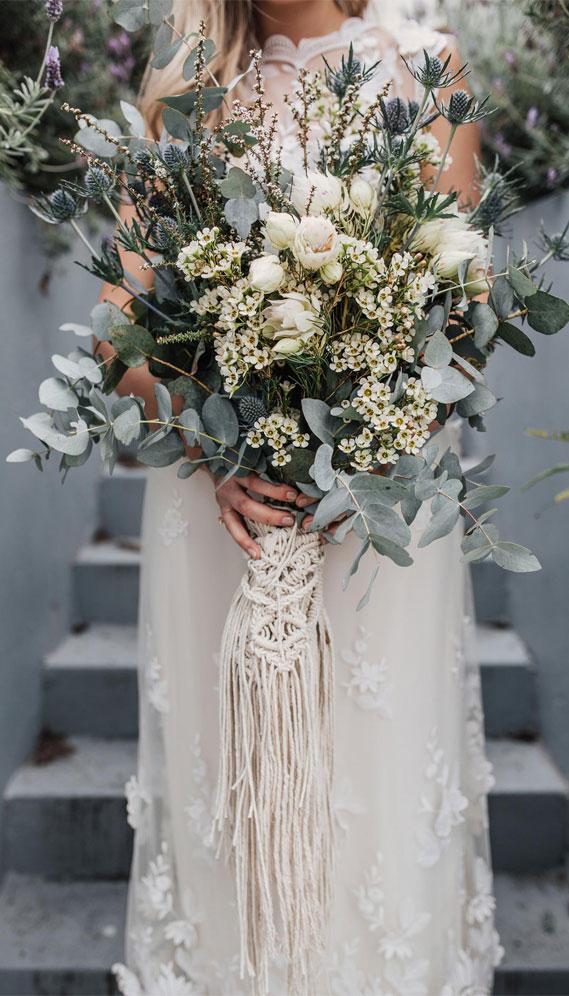 sage green wedding bouquet, sage wedding bouquet, sage bridal bouquet #sage #bridalbouquet #weddingbouquet