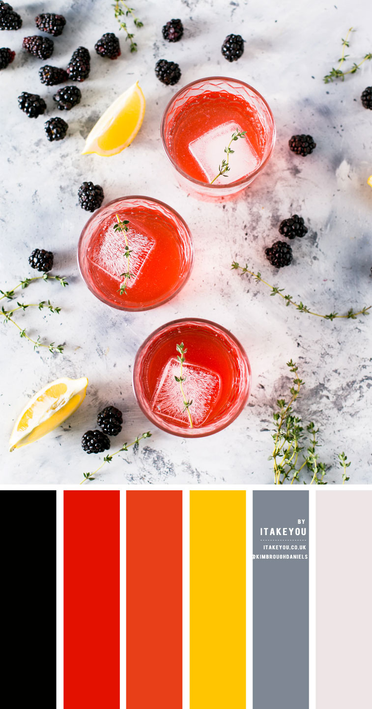 Blood Orange Colour Scheme – Colour Palette #37