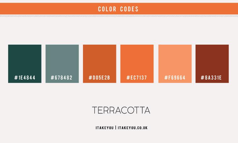 sage and terracotta color scheme, dark sage and terracotta , terracotta color scheme, terracotta and green color combinations, color scheme, color palette , color combinations with terracotta